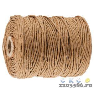 Шпагат STAYER упаковочный, бумажный, коричневый, 110м