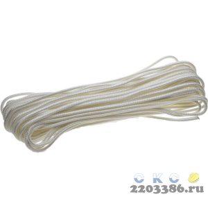 Фал ЗУБР капроновый, d=4,0 мм, 20 м, 380 кгс, 11,5 ктекс