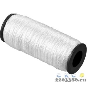 Шнур кручёный капроновый СИБИН, диаметр - 1,5 мм, длина - 100 м (катушка), 45 кгс