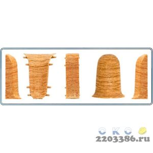 Угол наружный СК (033) ОРЕХ СВЕТЛЫЙ МК (50)