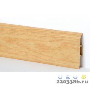 Плинтус СК 34 ВЯЗ с кабель-каналом Мягкий край (40)