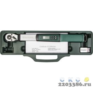 "Электронный динамометрический ключ ""DIGITAL"" 3/8"", 10 - 135 Нм, KRAFTOOL 64043-135"
