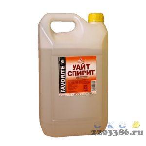 Уайт спирит (по 5 л-канистра/2902гр+/-50гр) Фаворит, 6 шт/уп
