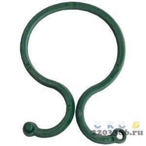 Крепление GRINDA для подвязки растений, тип - пластиковое кольцо с перехлестным креплением на защелке, 25шт