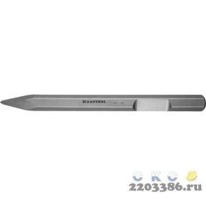 ЗУБР HEX 28,6 (Макита тип) Зубило пикообразное 400 мм