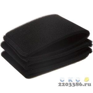 Фильтр поролоновый для пылесосов URAGAN, 3шт