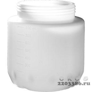 Бачок для краскопультов электрических, ЗУБР КПЭ-Б-800, 800мл