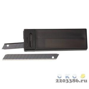 Лезвие OLFA сегментированные BLACK MAX, 9х80х0,38мм, 13 сегментов, 10шт