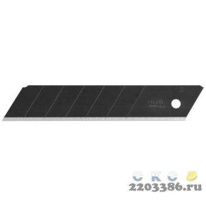 """Лезвие OLFA """"BLACK MAX"""" сегментированное, 5шт, 25х126х0,7мм"""