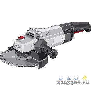 ЗУБР УШМ 230 мм, 2300 Вт.