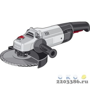 ЗУБР УШМ 230 мм, 2600 Вт.