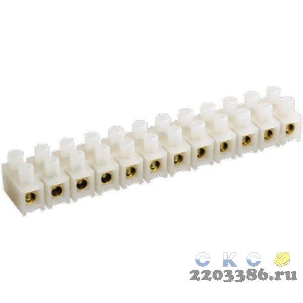 Клеммник ЗВИ-5 1.5-4мм.кв. 12пар (UZV3-005-04) 9728849