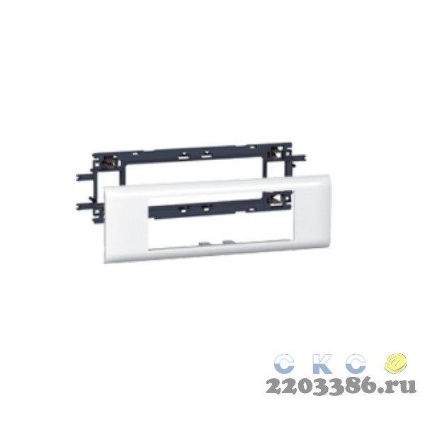 Суппорт/рамка Mosaic на 6 модулей DLP на крышку 65 мм (10956) 9799351