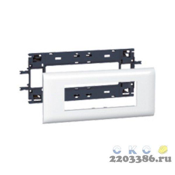Суппорт/рамка 6 модулей DLP на крышку 85мм Mosaic (010996)