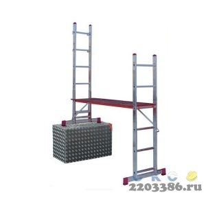 Лестничные подмости KRAUSE CORDA 2х6