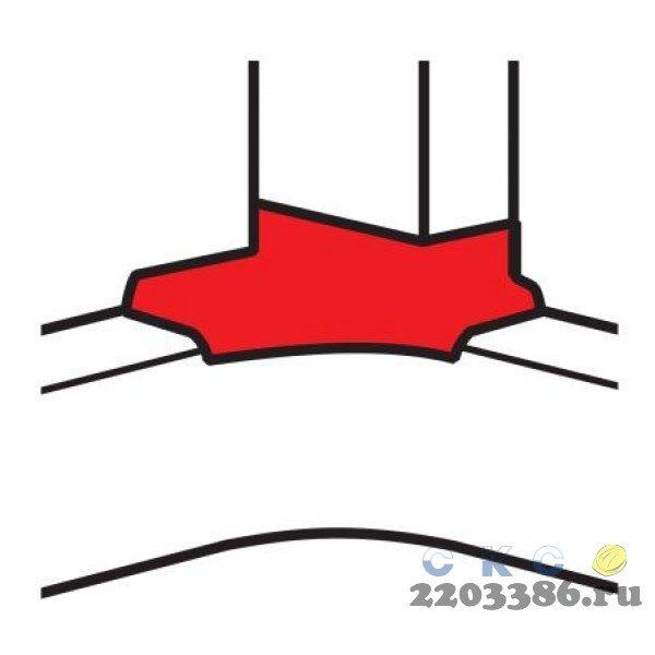 Угол отвод  50х105 DLP (10765) 9735505