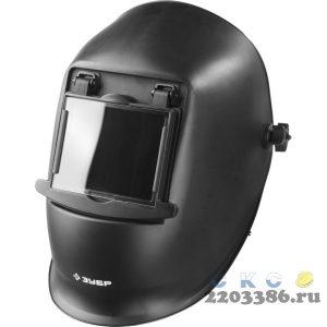 ЗУБР МСО-11 затемнение 11 маска сварщика со стеклянным светофильтром, откидной блок