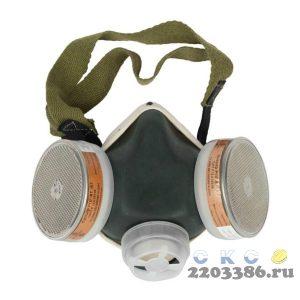 ЗУБР РПГ-67 А1 респиратор противогазовый с фильтрами А1
