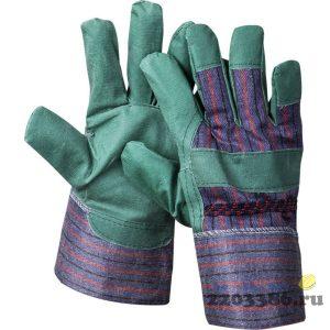 """Перчатки STAYER """"MASTER"""" рабочие, искусственная кожа, зеленые, XL"""