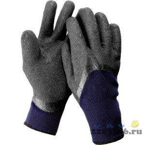 ЗУБР СИБИРЬ, размер S-M, перчатки утепленные, двухслойные, акриловые.