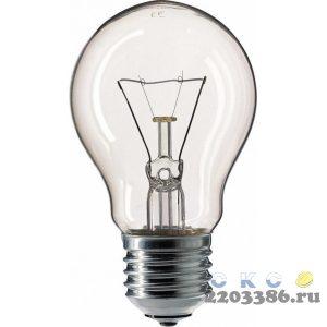 Лампа ЛОН 60вт A55 230в E27 Philips (120шт/уп) 9678719