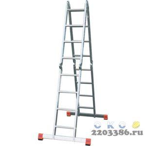 Лестница-трансформер KRAUSE MONTO MULTIMATIC 4х4 шарнирная, универсальная