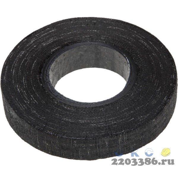 ЗУБР 150гр изолента Х/Б, ширина 18мм, 1000 В,  черная