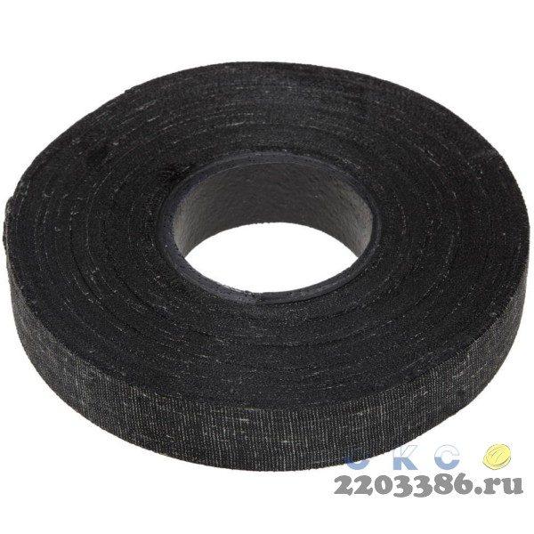 ЗУБР 250гр изолента Х/Б, ширина 18мм, 1000 В, черная