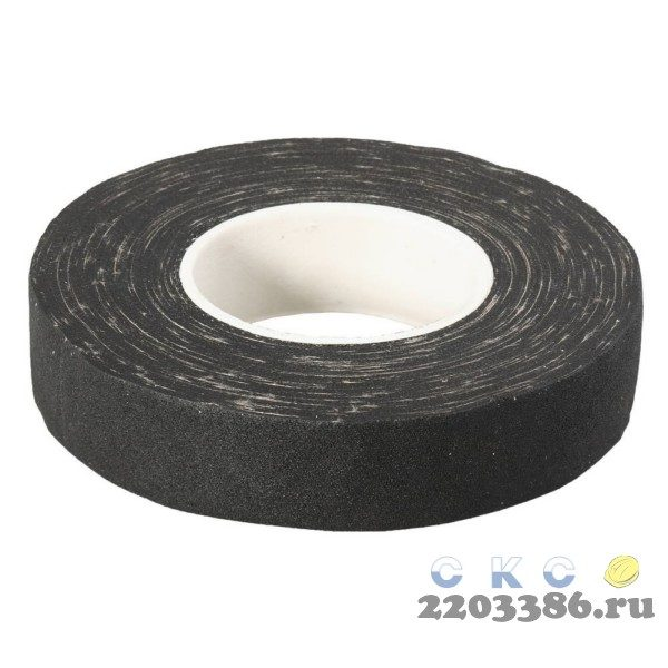 ЗУБР 15м, изолента Х/Б, ширина 18мм, 1000 В, повышенная плотность 440 г/м2, черная