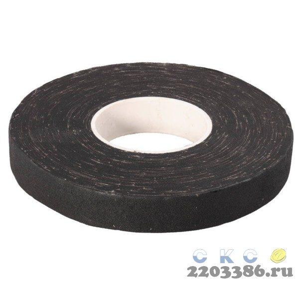 ЗУБР 33м, изолента Х/Б, ширина 18мм, 1000 В, повышенная плотность 440 г/м2, черная