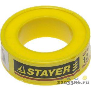 "Фумлента STAYER ""MASTER"", плотность 0,25 г/см3, 0,075ммх12ммх10м"