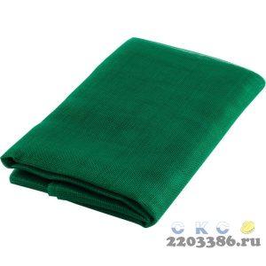 """Сетка STAYER """"STANDARD"""" противомоскитная, для двери, в индивидуальной упаковке, стекловолокно+ПВХ, зеленая, 1,1х2,2м"""