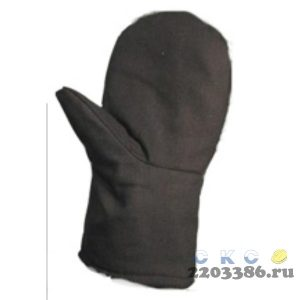 Рукавицы ЗИМНИЕ утепленные 1-й ватин (100 шт/уп)