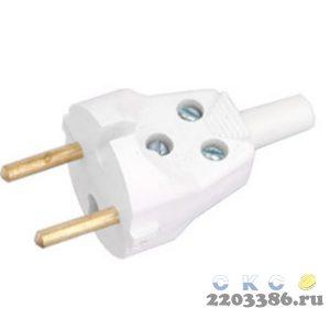 Вилка В6-001 с латунным штырем (В6-001) Беларусь 3232570