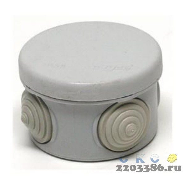 Коробка распределительная 70мм IP55 (67020)