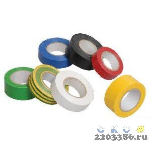 Изолента ПВХ желтый 19мм 20м МИЛЕН 9810517