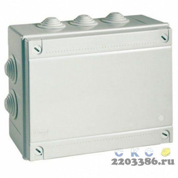 Коробка распределительная 150х110x70мм IP55 с кабельными вводами (54000)