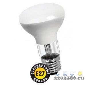 Лампа накаливания зеркальная ЗК 60вт R63 230в Е27 матовая (94321 R-63) 4671479