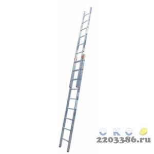 Лестница выдвижная KRAUSE STABILO 2х 9 двухсекционная