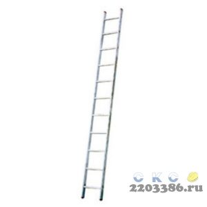 Лестница приставная KRAUSE STABILO 10 ступеней со ступенями
