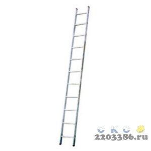 Лестница приставная KRAUSE STABILO 15 ступеней со ступенями