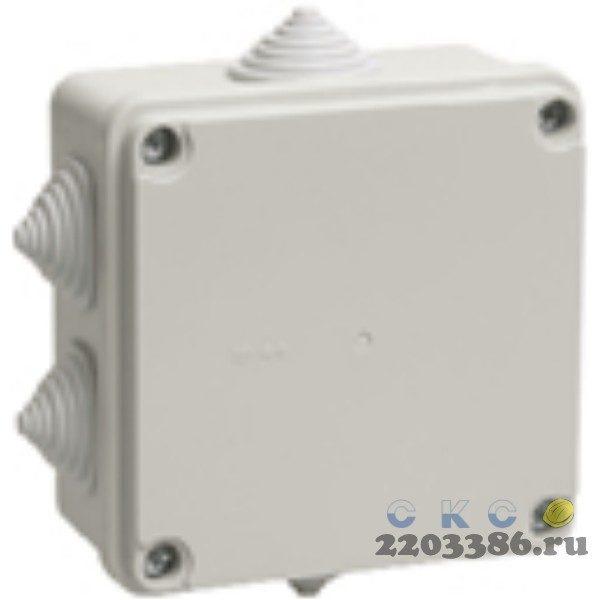 Коробка распр 100х100х50 IP55 КМ41234 ИЭК UKO11-100-100-050-K41-55