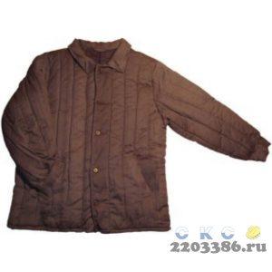 """Куртка """"Телогрейка"""" черная (р.48-50/170-176 (3-4)"""