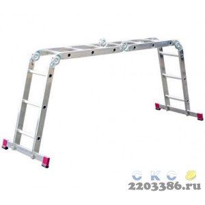 Лестница-трансформер KRAUSE CORDA 4х4 шарнирная, универсальная