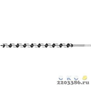 URAGAN 14x450/160мм, сверло левиса по дереву, шестигранный хвостовик