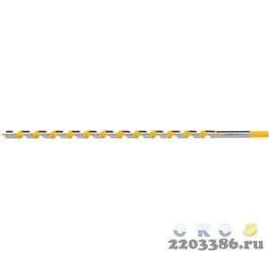 STAYER Spiral 16x450/360мм, сверло левиса по дереву, шестигранный хвостовик