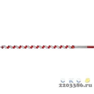 ЗУБР 16x450/360мм, сверло левиса по дереву, шестигранный хвостовик