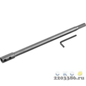 STAYER Spiral 300 мм, удлинитель для сверл левиса, HEX 12.5 мм