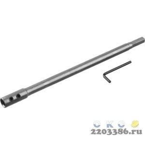 ЗУБР 300 мм, удлинитель для сверл левиса, HEX 12.5 мм