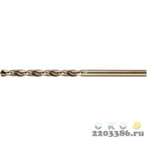 KRAFTOOL HSS-G 5.5 х93мм, Сверло по металлу HSS-G, сталь М2(S6-5-2)